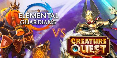 Elemental Guardians vs. Creature Quest