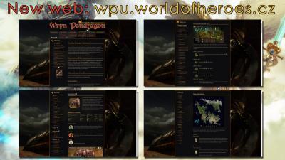 Wryn Pendragon dostal nový web!