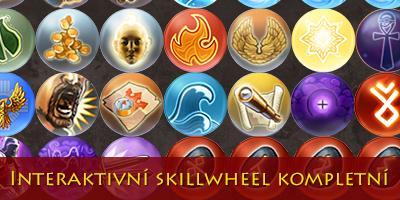 Interaktivní skillwheel je kompletní (Pevnost)