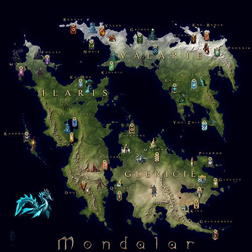 Mapa Mondalaru